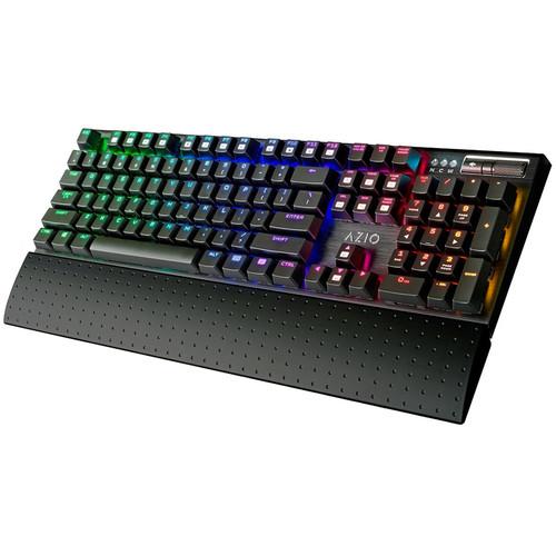 AZIO MGK1-RGB Mechanical Gaming Keyboard (RGB LEDs, Kailh Blue)