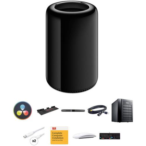 B&H Photo Mac Pro Workstation Turnkey with DaVinci Resolve and 12TB RAID Storage