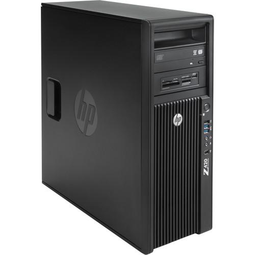 "B&H Photo PC Pro Workstation Kit with Z420 Minitower F1M14UT Workstation, LaCie 48TB 8big Thunderbolt 2 RAID, Crucial 12GB (3 x 4GB) DIMM DDR3 RAM, HP Gigabit Network Card, HP Thunderbolt 2 I/O Card, Samsung 256GB 2.5"" SSD, Newer Technology AdaptaDrive 2.5"" to 3.5"" Drive Converter Bracket, & Installation Service"