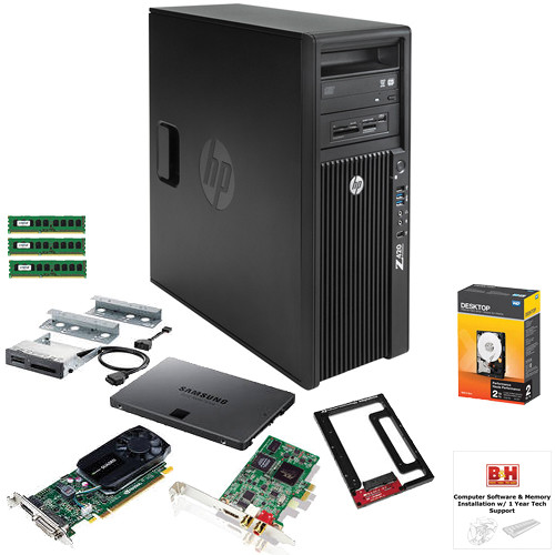 B&H Photo PC Pro Workstation Z420 Entry Level Turnkey Kit with Grass Valley Edius Pro 7