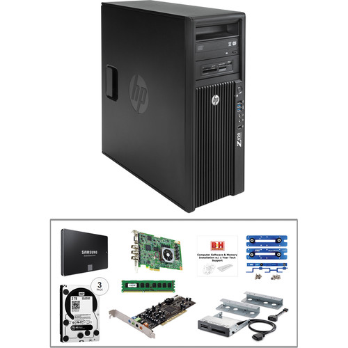 B&H Photo PC Pro Workstation Z420 Mid-Level Turnkey Kit with Grass Valley Edius Pro 7