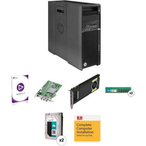 B&H Photo PC Pro Workstation HP Z640 Turnkey with EDIUS Pro 8, STORM Pro & Quadro M4000