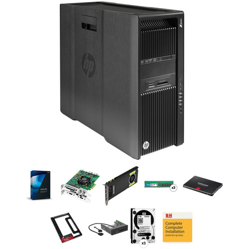 B&H Photo PC Pro Workstation HP Z840 Rackable Turnkey Workstation with Vegas Pro 14 and Blackmagic DeckLink Studio 4K