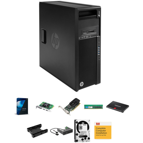 B&H Photo PC Pro Workstation HP Z440 Entry Level Turnkey with Vegas Pro 14 and Blackmagic Intensity Pro 4K