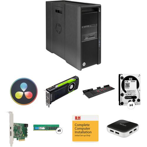 B&H Photo PC Pro Workstation Z840 Turnkey with DaVinci Resolve