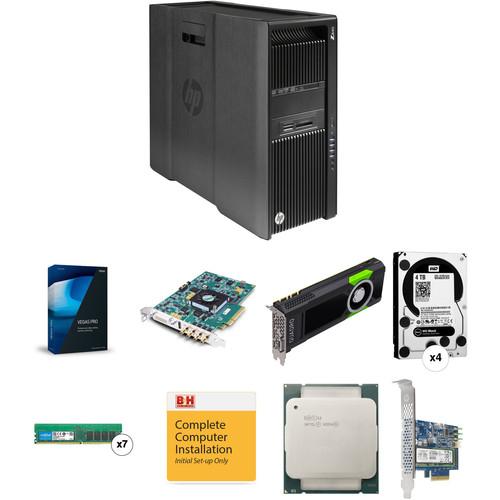 B&H Photo PC Pro Workstation HP Z840 Turnkey with Vegas Pro 14