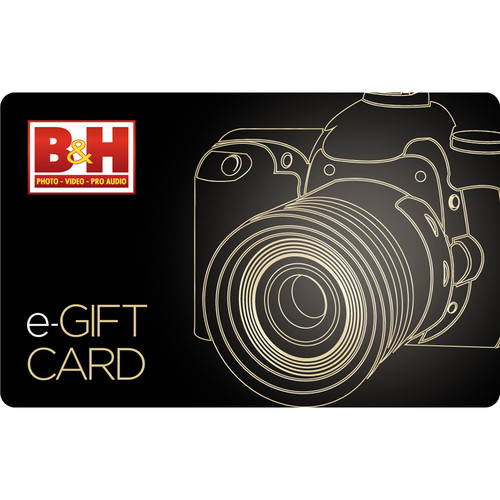 B&H Photo Video $95 B&H E-Gift Card