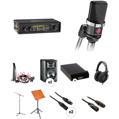 Neumann Master Voice Actor Recording Kit