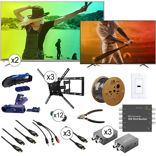 "B&H Photo Video Watchtower 55"" TV Kits"