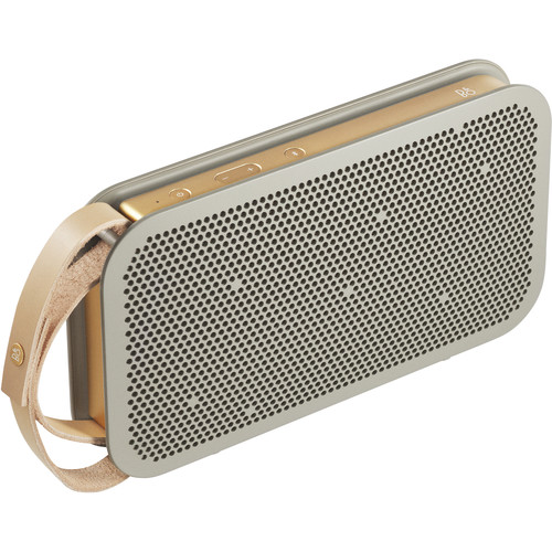 B & O Play A2 Bluetooth Speaker (Champagne Gray)