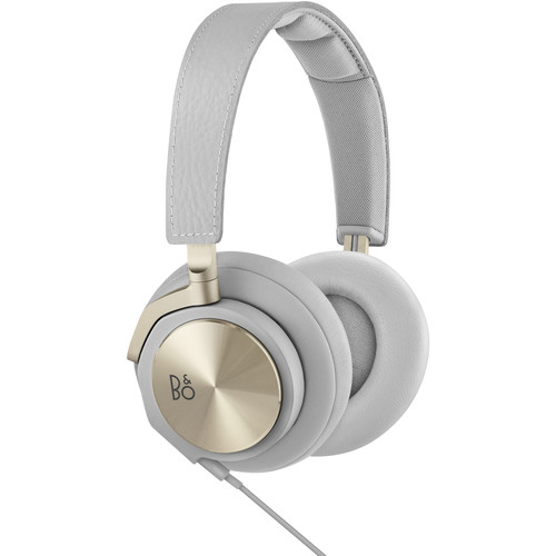 B&O PLAY by Bang & Olufsen H6 Over-Ear Headphones 2nd Gen (Champagne Gray)