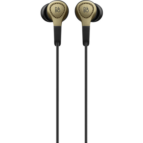 B&O PLAY by Bang & Olufsen H3 2nd-Generation In-Ear Headphones with Microphone & Remote (Champagne)