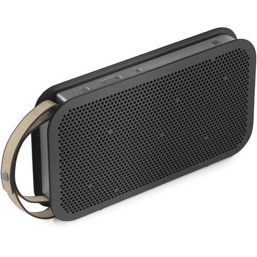 B&O PLAY by Bang & Olufsen Beoplay A2 Active Bluetooth Speaker (Stone Gray with Sand Stone and Stone Gray Straps)