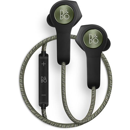 Bang & Olufsen Beoplay H5 Wireless Bluetooth Earphones (Moss Green)