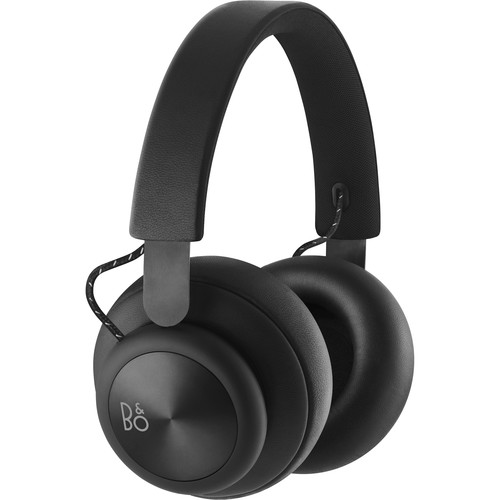 B&O PLAY by Bang & Olufsen Beoplay H4 Bluetooth Wireless Over-Ear Headphones (Black)