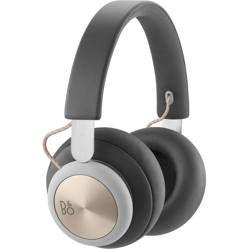 B&O PLAY by Bang & Olufsen Beoplay H4 Bluetooth Wireless Over-Ear Headphones (Charcoal Gray)