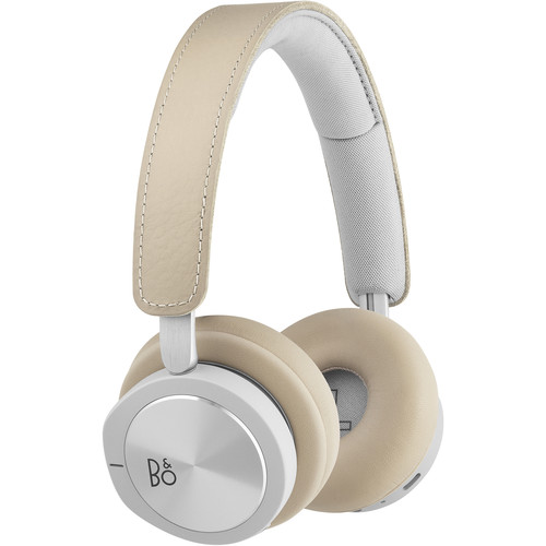 Bang & Olufsen Beoplay H8i Bluetooth On-Ear Headphones with Active Noise Cancellation (Natural)