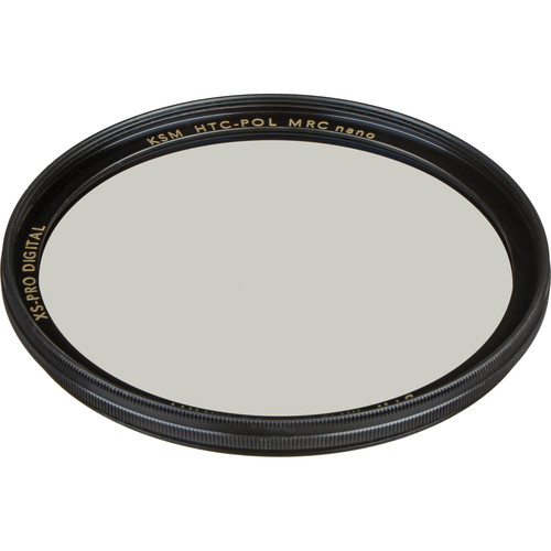 B+W 62mm XS-Pro Kaesemann High Transmission Circular Polarizer MRC-Nano Filter