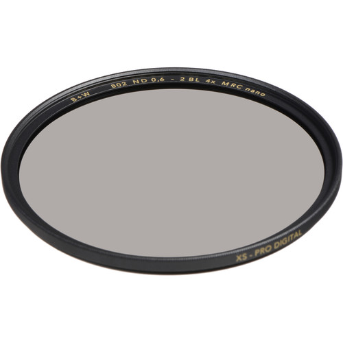 B+W 62mm XS-Pro MRC-Nano 802 Solid Neutral Density 0.6 Filter (2-Stop)