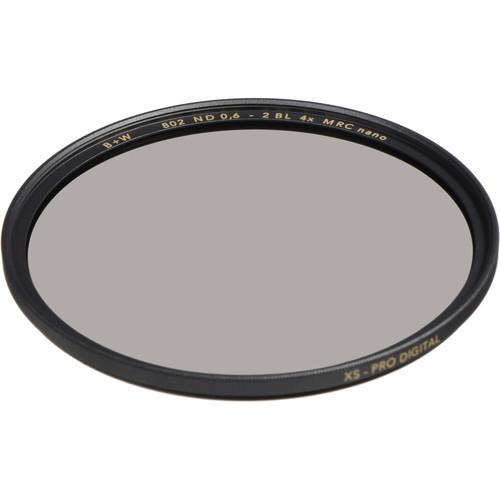 B+W 86mm XS-Pro MRC-Nano 802 Solid Neutral Density 0.6 Filter (2-Stop)
