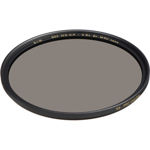 B+W 62mm XS-Pro MRC-Nano 803 Solid Neutral Density 0.9 Filter (3-Stop)