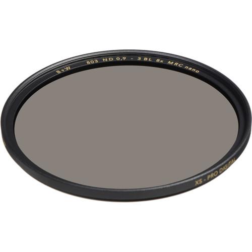 B+W 82mm XS-Pro MRC-Nano 803 Solid Neutral Density 0.9 Filter (3-Stop)