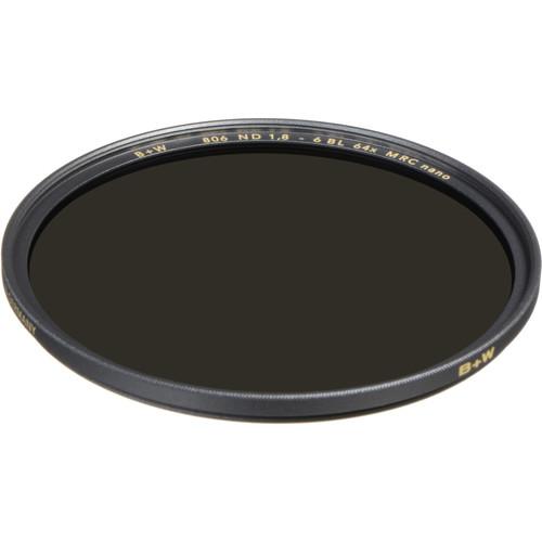 B+W 49mm XS-Pro MRC-Nano 806 Solid Neutral Density 1.8 Filter (6-Stop)