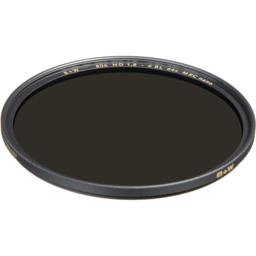 B+W 72mm XS-Pro MRC-Nano 806 Solid Neutral Density 1.8 Filter (6-Stop)