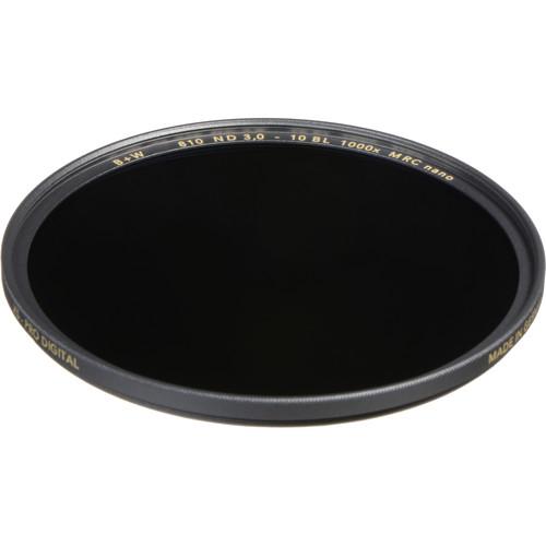 B+W 72mm XS-Pro MRC-Nano 810 Solid Neutral Density 3.0 Filter (10-Stop)