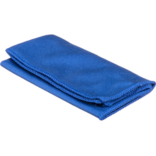 "B+W Photo Clear Microfiber Cleansing Cloth (7.9 x 7.1"", Blue)"
