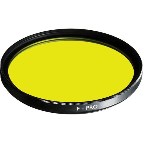 B+W 37mm Medium Yellow 022 Glass Filter