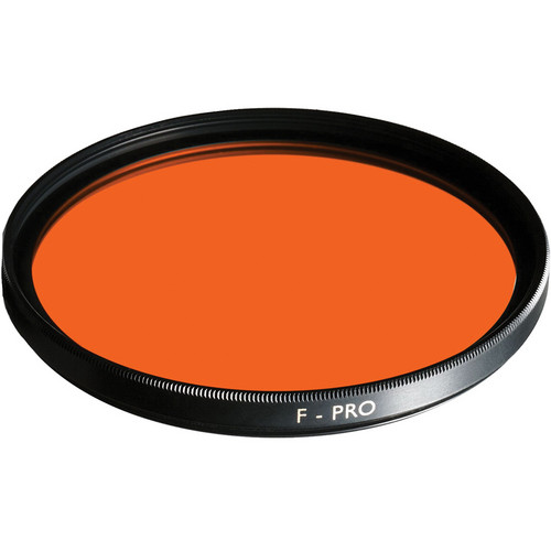B+W 37mm Yellow Orange 040 Glass Filter