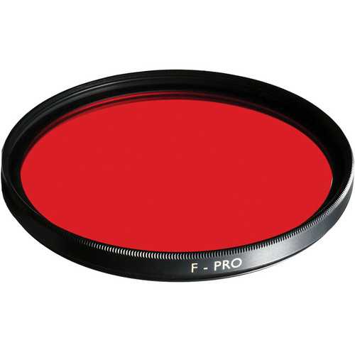 B+W 37mm Dark Red 091 Glass Filter