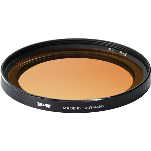 B+W 86mm Extra Wide Yellow Orange 040 Glass Filter