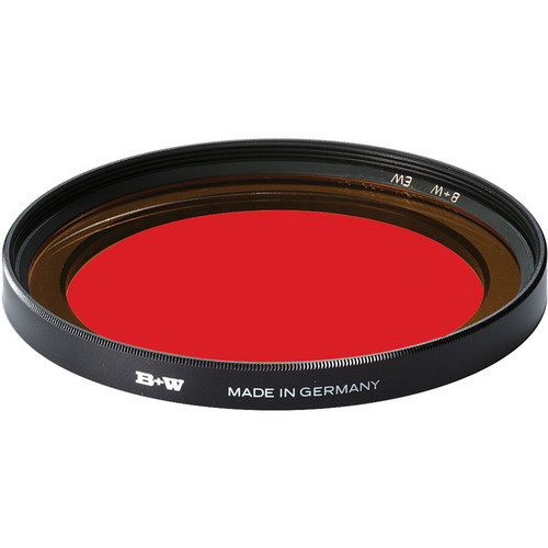 B+W 82mm Extra Wide Light Red 090 Glass Filter