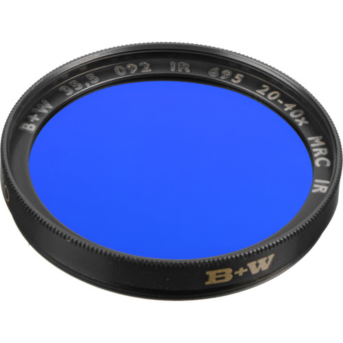 B+W 35.5mm 092 MRC RG 695 (89B) Infrared Filter
