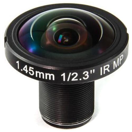 Back-Bone Gear 1.45mm 190° 10MP Fisheye Lens for Select Ribcage Modified Cameras