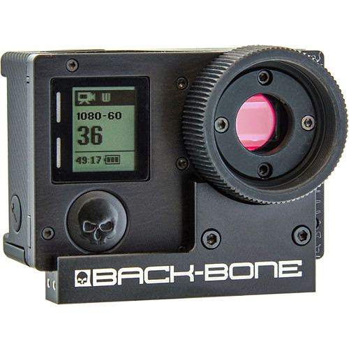 Back-Bone Gear Ribcage Modified GoPro HERO4 Silver