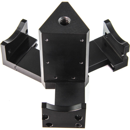 Back-Bone Gear Spherical Mount for Three Ribcage-Modified GoPro HERO4 Cameras
