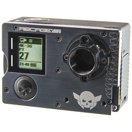 Back-Bone Gear Ribcage AIR Modified GoPro HERO4 Black Panoramic Rig with 220° Fisheye Lenses Kit
