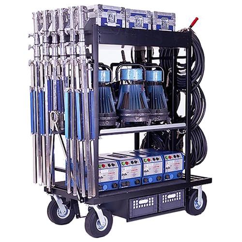 Backstage Equipment HMI Cart