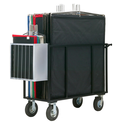 Backstage Equipment 4 x 4 Coaster Senior Cart