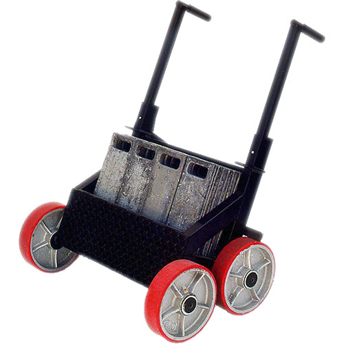 Backstage Equipment Lead Sled Weight Cart