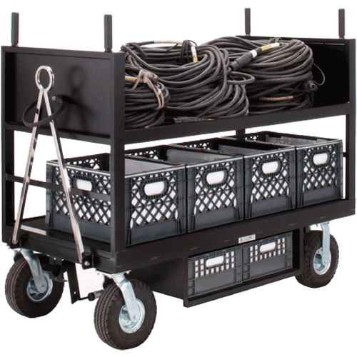 Backstage Equipment Cable Distro Cart