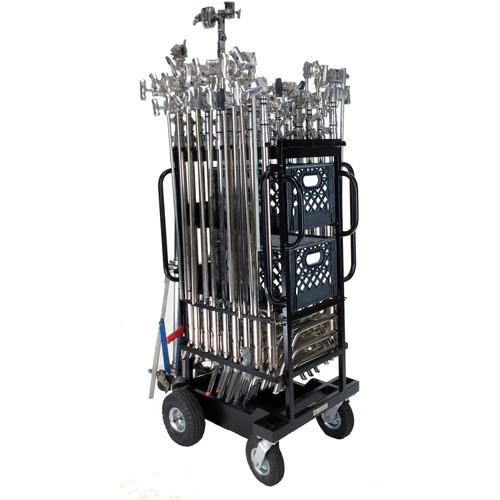 Backstage Equipment C-Stand/Hi-Roller Utility Cart Plus