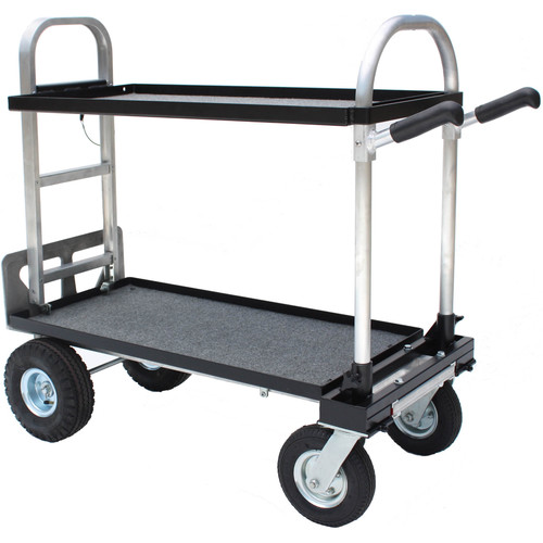"""Backstage Equipment Magliner Modified Junior Cart with 18"""" Shelves"""