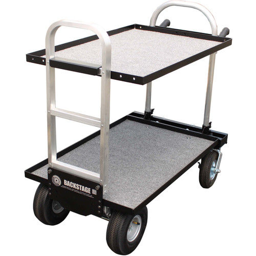 "Backstage Equipment Magliner Junior Cart with 24"" Shelves"