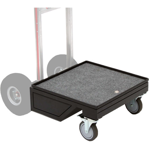 """Backstage Equipment 5"""" Wheel Conversion Kit for Mag Vertical Carts (Spike Outlets)"""