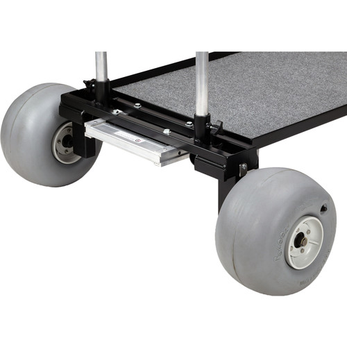 "Backstage Equipment 24"" Sand Dune Wheel Kit for Mag Carts (Set of 4)"
