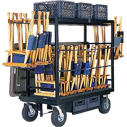 Backstage Equipment Prop Chair Cart
